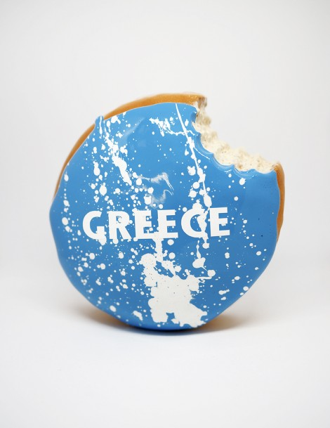 Greece Donut Front.