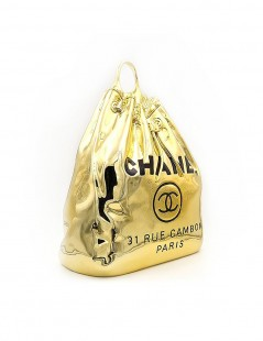 Chanel Bag Side.