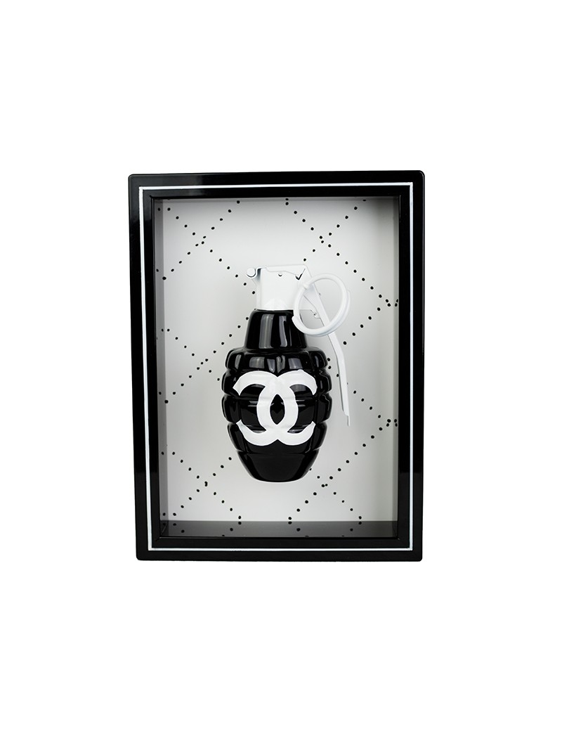 Black Chanel Art Grenade.