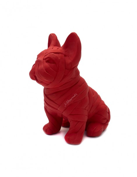 French Bulldog Left.