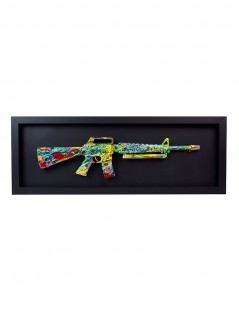 Colourful Gun Front.