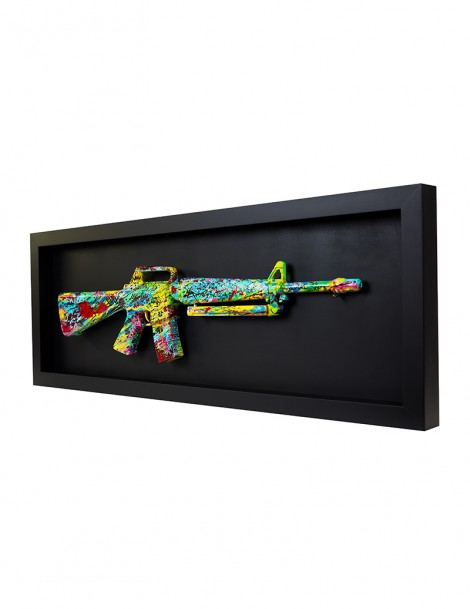 Colourful Gun.
