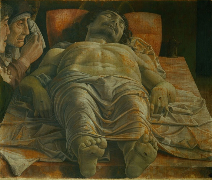 Andrea Mantegna, The Dead Christ.