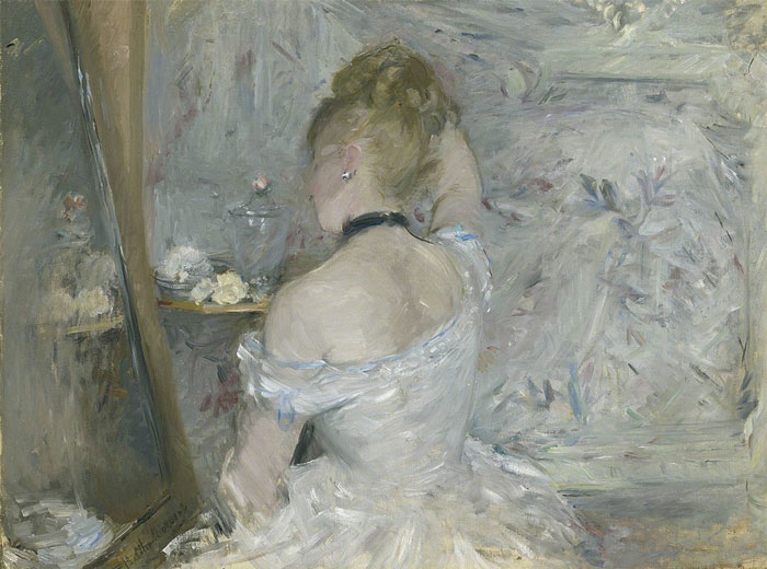Berthe Morisot, Woman at Her Toilette.