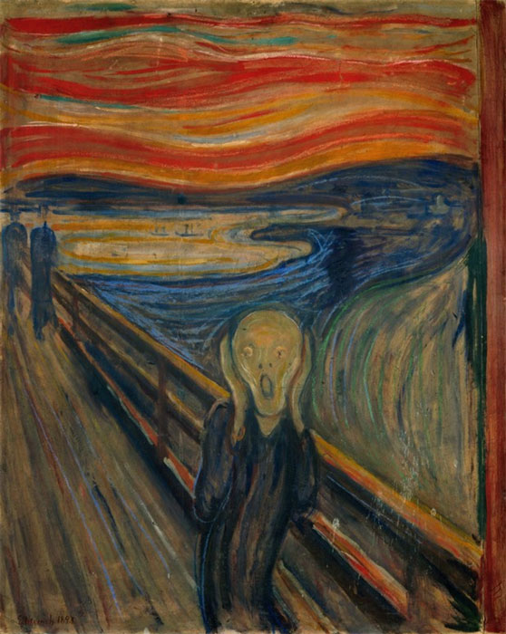 Edvard Munch, The Scream.