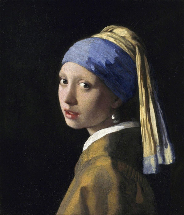 Johannes Vermeer, Girl with a Pearl Earring.