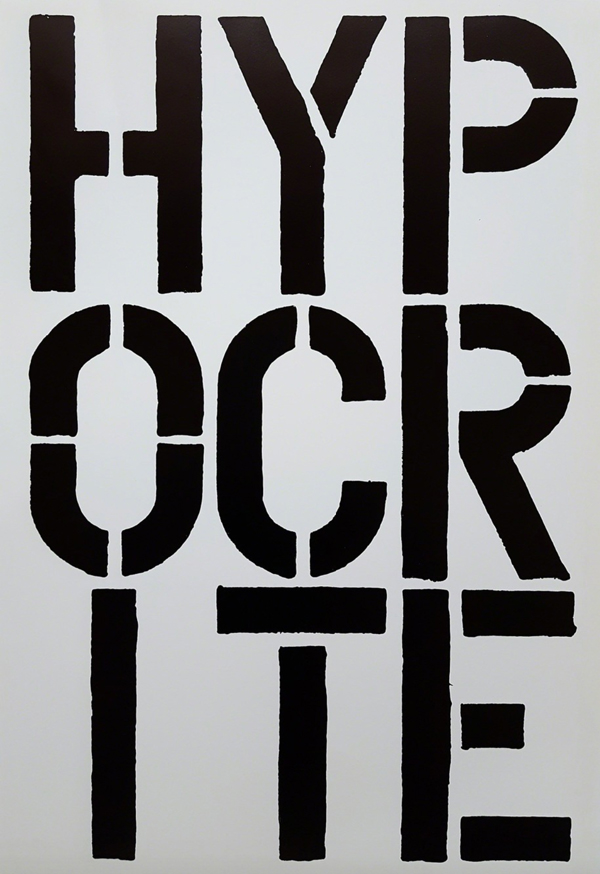 Christopher Wool.