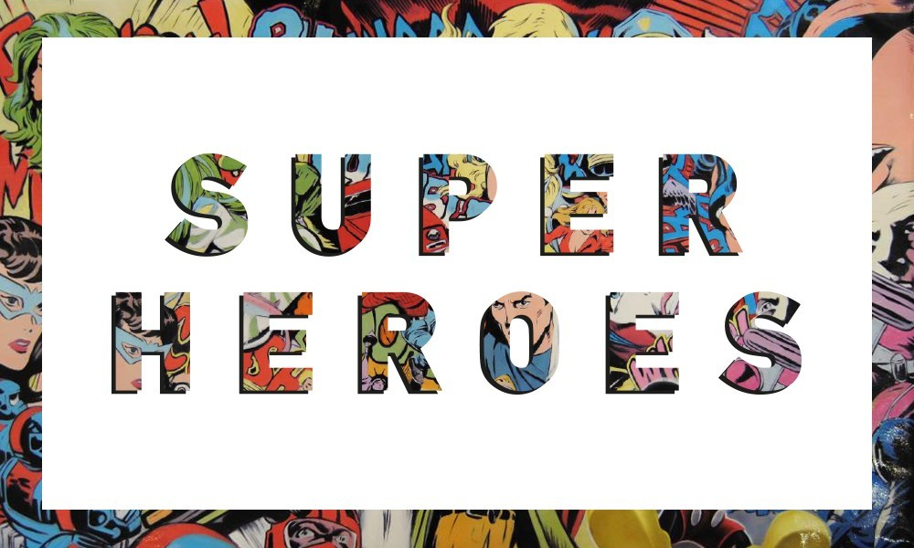 Superheroes Digital Exhibition